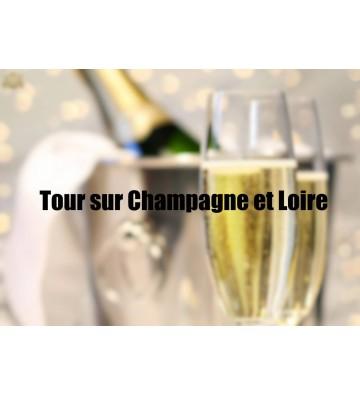 Tour sur Champagne et Loire
